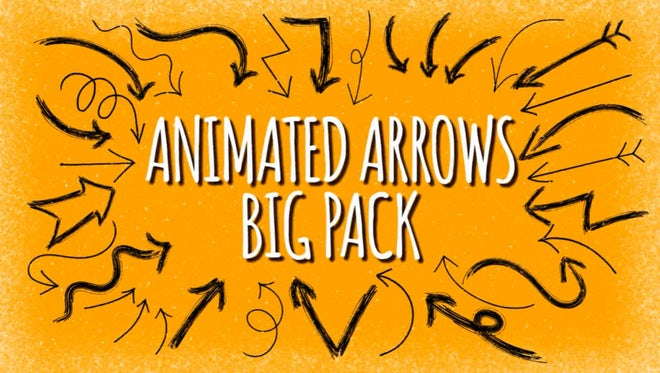Animated Arrows Pack: Stock Motion Graphics