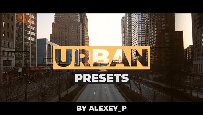 Urban Color Presets: Premiere Pro Presets