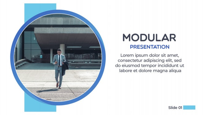Modular Presentation: After Effects Templates