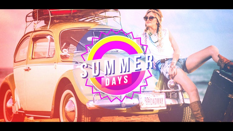 Summer Days: After Effects Templates