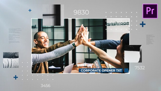 Corporate Opener: Premiere Pro Templates