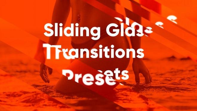 Sliding Glass Presets: Premiere Pro Presets