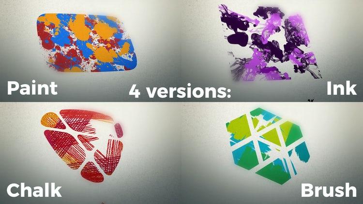 Painted Logo: Premiere Pro Templates