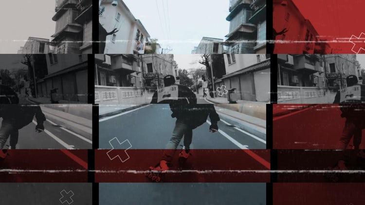 Dynamic Urban Opener: Premiere Pro Templates