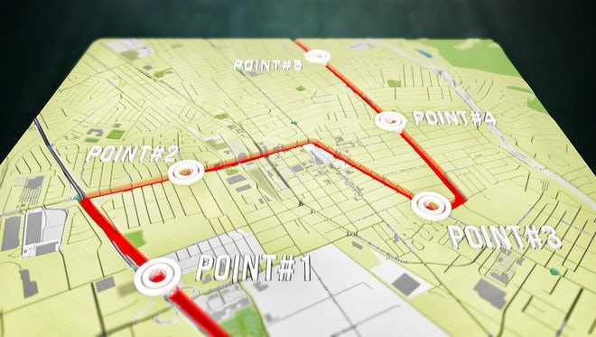 3D Map: After Effects Templates
