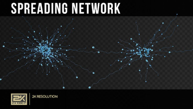Spreading Network Pack: Stock Motion Graphics