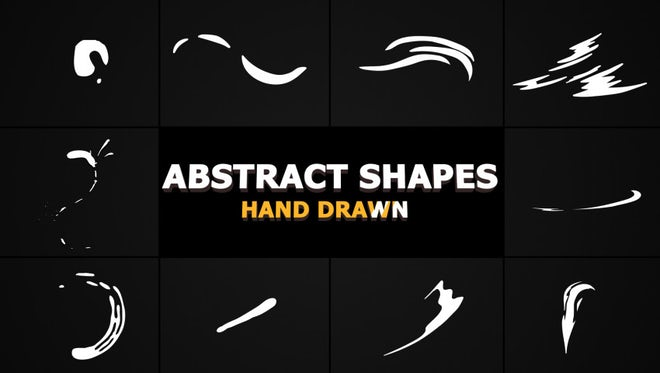 Flash FX Abstract Shapes Pack: Stock Motion Graphics