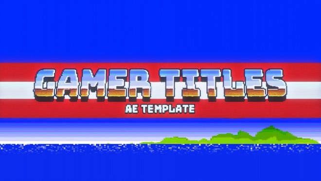 Gamer Titles: After Effects Templates