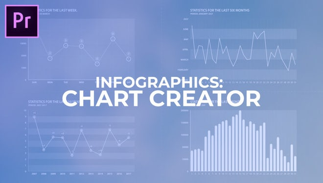 Infographics: Chart Creator: Motion Graphics Templates
