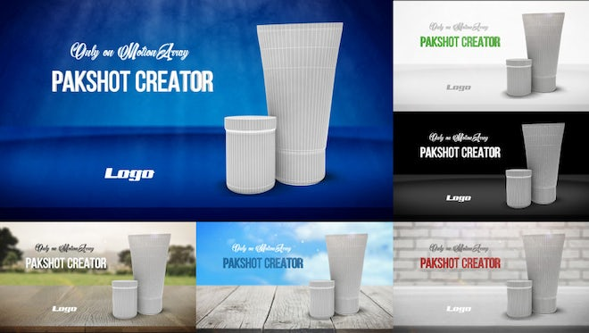 Packshot Creator 4K: After Effects Templates