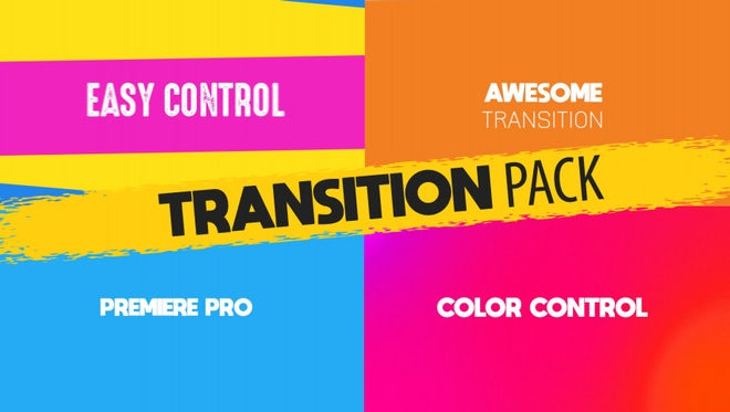 Titles Transition Pack: Motion Graphics Templates
