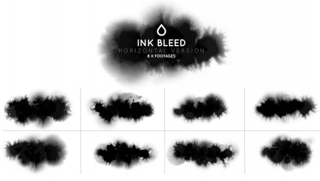 Ink Horizontal Bleed Pack: Stock Motion Graphics