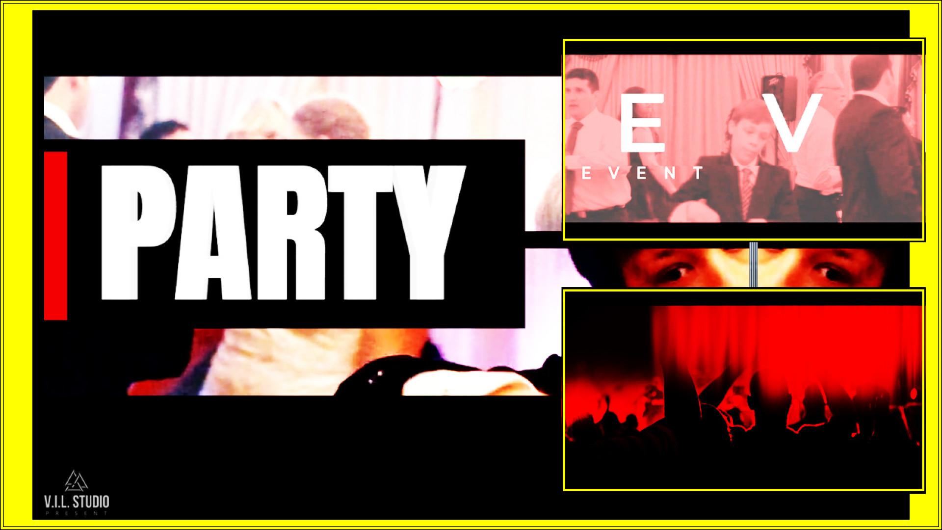 Party Dancing Event - Premiere Pro Templates   Motion Array
