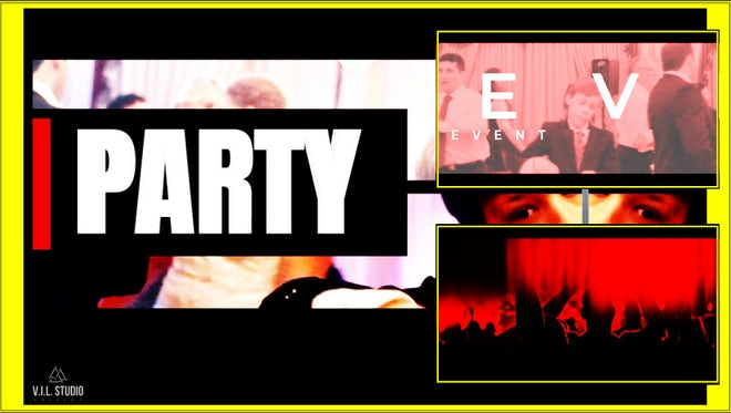 Party Dancing Event: Premiere Pro Templates