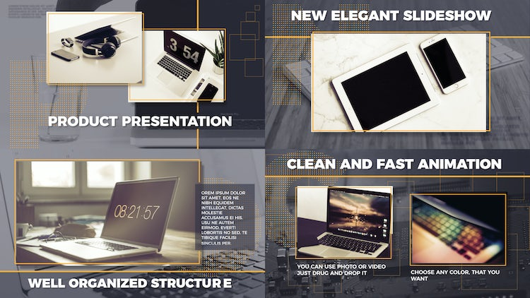 Corporate Slideshow / Product Presentation: After Effects Templates