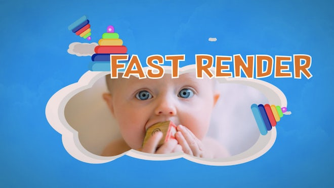 Fun Kids Slides: After Effects Templates