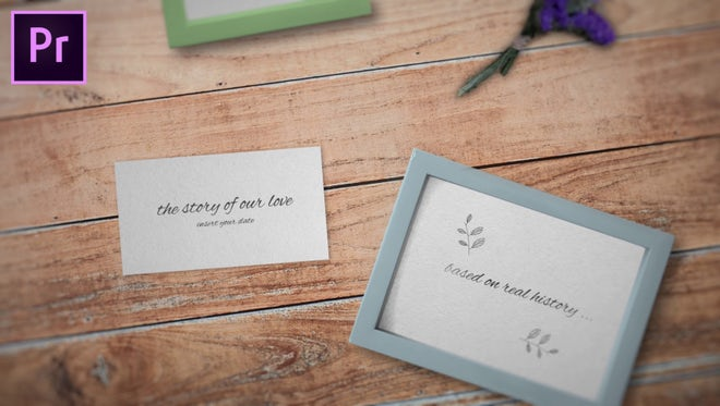 Wedding Opener: Motion Graphics Templates