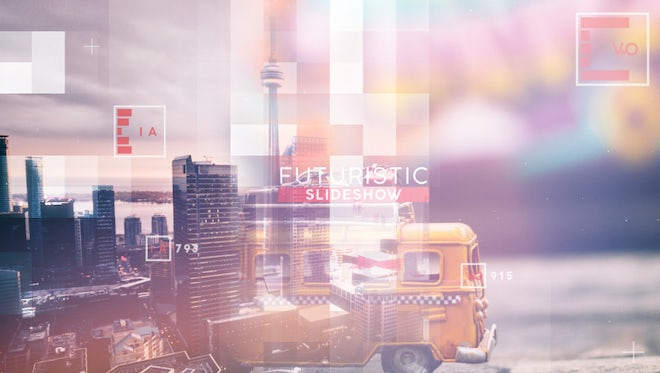 Futuristic Slideshow: After Effects Templates
