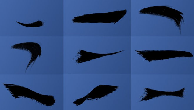 Animated Horizontal Brush Strokes Pack: Stock Motion Graphics
