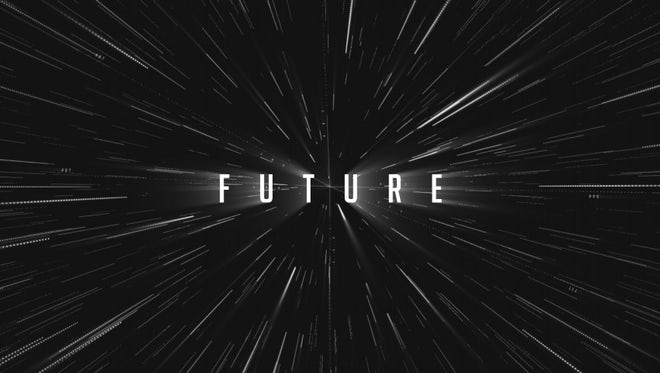 Sci-Fi Future Star Logo: After Effects Templates
