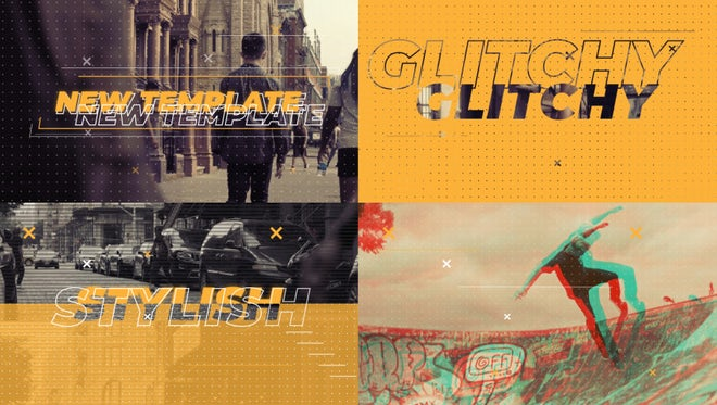 Glitch Urban Promo: After Effects Templates