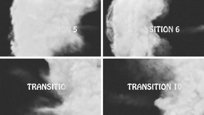 Smoke Transition Pack: Stock Motion Graphics