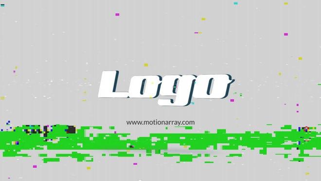 3D Glitch Logo: Premiere Pro Templates