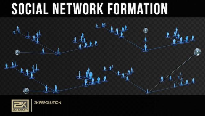 Growing A Social Network Pack: Stock Motion Graphics