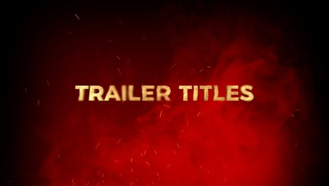 Trailer Titles - Essential Graphics: Motion Graphics Templates