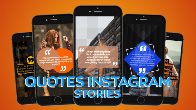 Instagram Quotes Stories: Motion Graphics Templates
