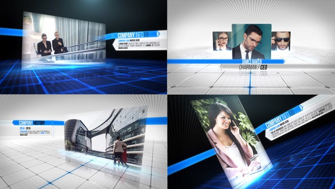 Complete Business Package: After Effects Templates