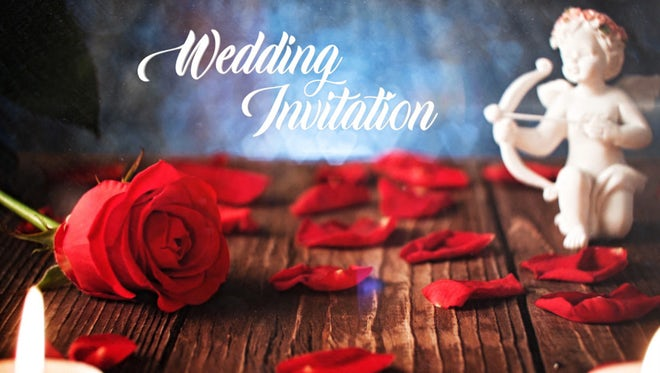 Wedding Invitation: After Effects Templates