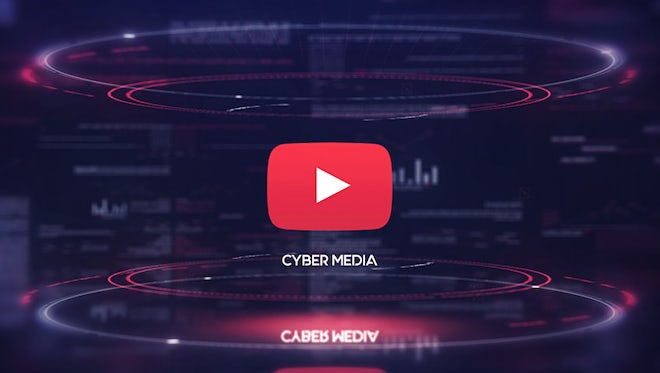Cyber Media Logo Opener: After Effects Templates