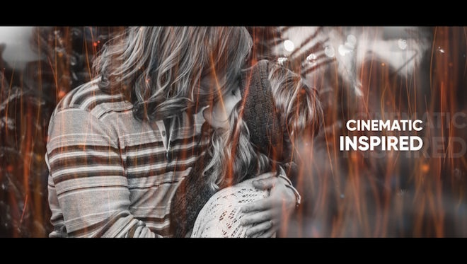 Slideshow - Cinematic Inspired: After Effects Templates