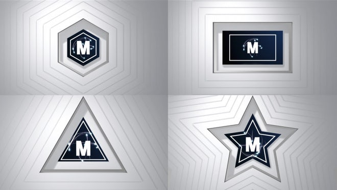 Logo Reveal Simple Fast Formed V1: After Effects Templates