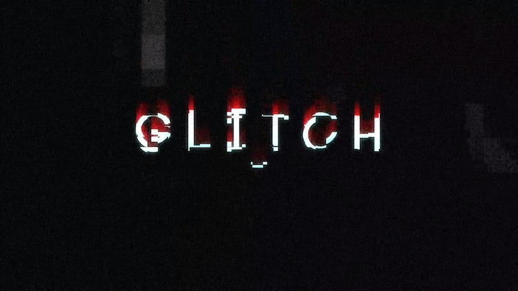 Glitch Titles: DaVinci Resolve Templates