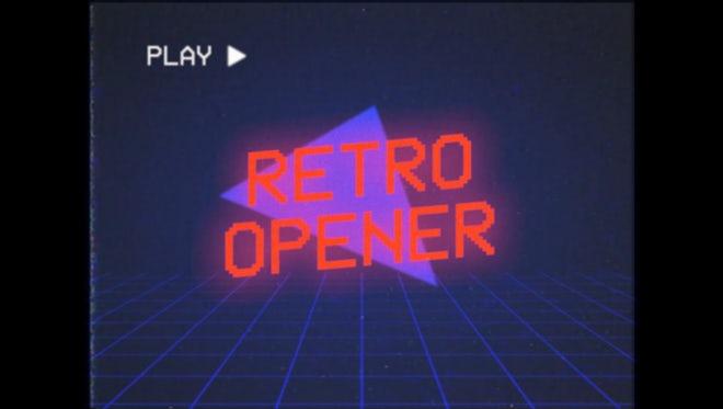 VHS Promo: Premiere Pro Templates