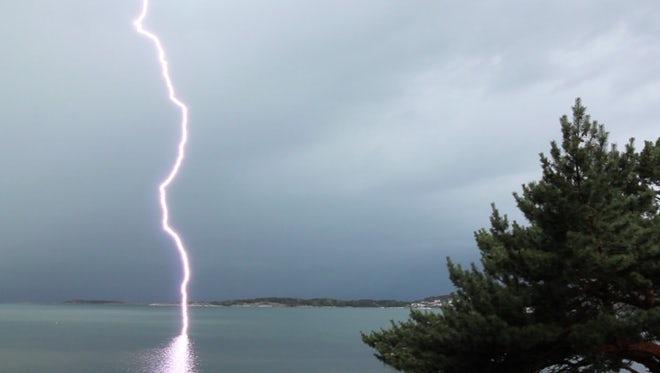 Lightning Strikes: Stock Video