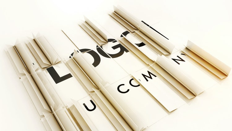 Elegant Folding Logo: After Effects Templates