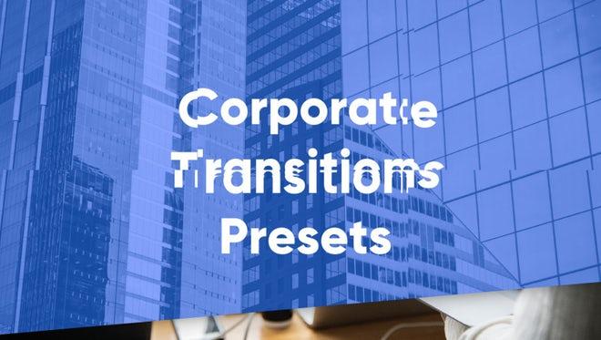 Corporate Presets: Premiere Pro Presets