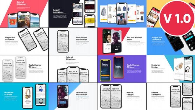 Phone X Promo App Presentation: Premiere Pro Templates