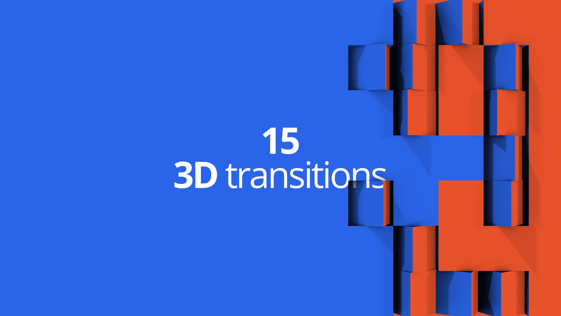3D Transitions - After Effects Templates | Motion Array