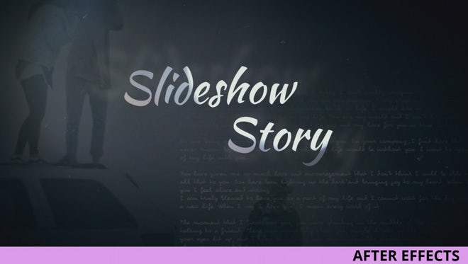 Slideshow Story: After Effects Templates