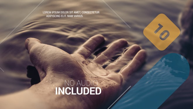 Modern Travel Promo: After Effects Templates