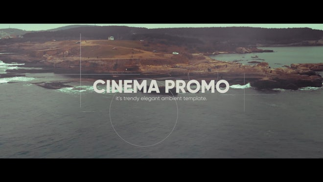 Cinematic Ambient Promo: Premiere Pro Templates