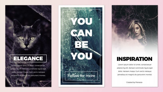 Instagram Stories Pack: Premiere Pro Templates