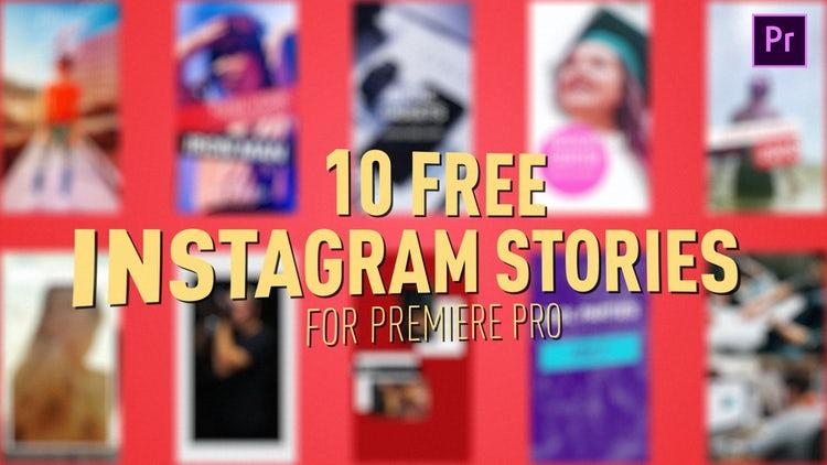 Free Instagram Stories: Premiere Pro Templates