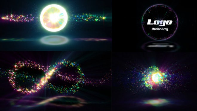 Particle Explosion Logo Reveal: After Effects Templates