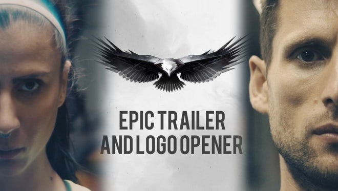 Epic Trailer Opener Logo: After Effects Templates