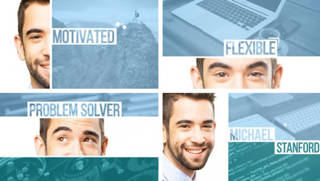 Video Resume CV: After Effects Templates